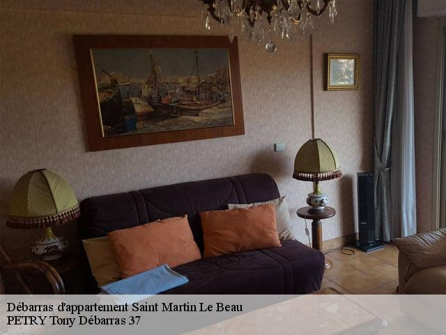Débarras d'appartement  37270